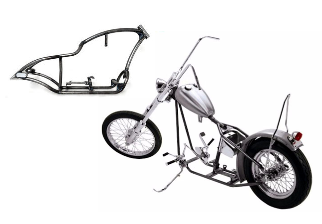 A Quick Look At Motorcycle Frame Design